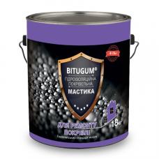 Мастика бітумно-каучукова покрівельна 18кг BITUGUM