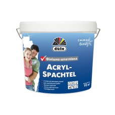 Шпаклівка фінішна акрилова  1,5кг AkrylSpachtel DUFA
