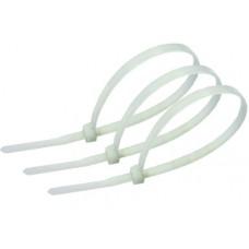 Хомут пластиковий кабельний білий 8,0х350 (уп. 100 шт.)
