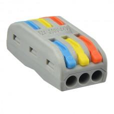 Клема шв монт 2х2х4мм прохідна кольорова РСТ-2-2-С АСКО