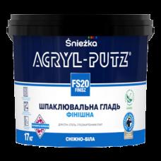 Шпаклівка фінішна акрилова 17кг ACRYL-PUTZ SNIEZKA