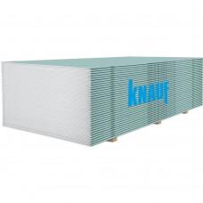 Гіпсокартонна плита вологостійка Knauf 12.5x1.2x3 (3,6 м2)